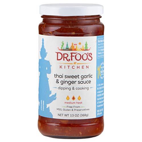 Dr. Foo's Thai Sweet Garlic & Ginger Sauce, 13 Oz., Pack Of 2