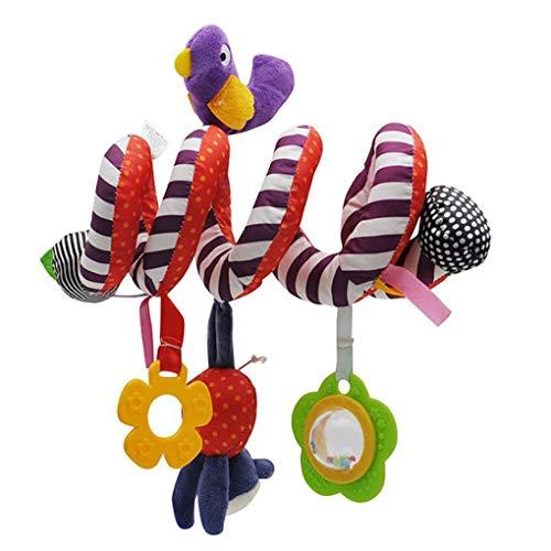 Baby rammelaars mobieltjes Educatief speelgoed Bijtring voor peuters Educatief speelgoed voor kinderen, Bijtring voor kinderen, Peuterbed Bedbel Baby spelen Kinderwagen Hangende poppen