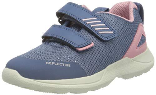Superfit Rush Sneaker Lauflernschuh, BLAU/ROSA, 31 EU