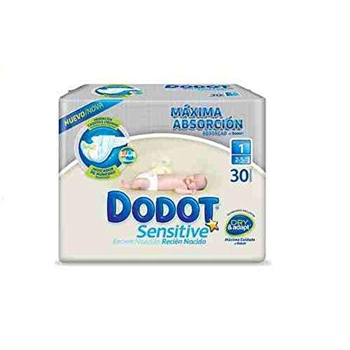 Pañales DODOT talla 1 28 unidades (2-5KG)