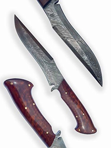 Valhalla Dellinger DD2013K125 Messer Damask Snake Forest