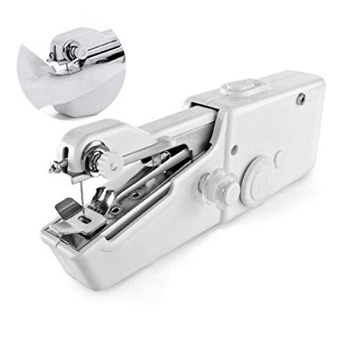 Máquina De Coser Portátil De Mano Eléctrica Infantil Manual Niños Niñas Mini Grapadora Fácil Pequeña A Pilas