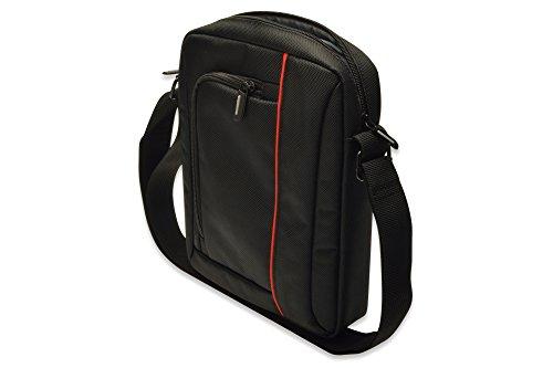 ednet Nylon Messenger UmhängeTasche für Tablet (26,9 cm (10,2 Zoll)) schwarz