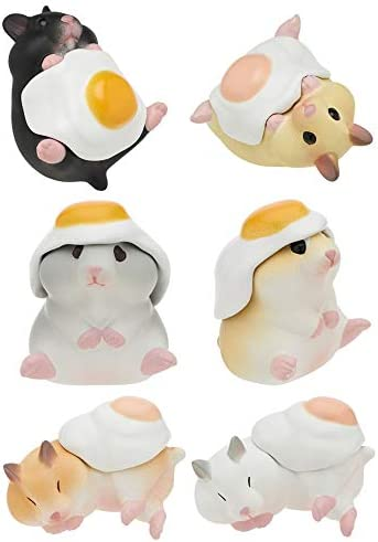 Kitan Club Hamster N Egg Version 2 Plastic Toy Blind Box Includes 1 of 6 Collectable Figurines product image