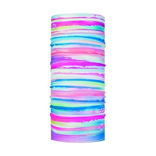 Buff Elytra, Scaldacollo Ad Alta Protezione UV Coolnet Bambina, Multi, Taglia Unica