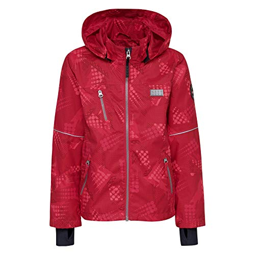 Lego Wear Lego Tec Sommer Josefine 202-Funktionsjacke, Blouson Bébé Fille, Rose (Red 366), 104