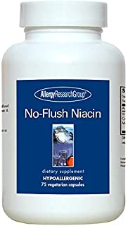 Allergy Research Group No-Flush Niacin 75 Vegetarian Capsules