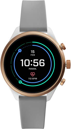 [フォッシル] 腕時計 FOSSIL スポーツスマートウォッチ FTW6025 レディース 正規輸入品 グレー