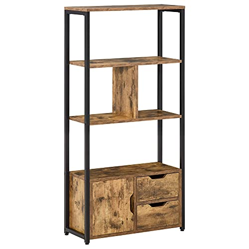 Estanterías De Madera Para Libros estanterías de madera  Marca HOMCOM