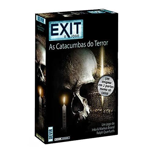Devir-BGEXIT9PT Exit - Las catacumbas del Terror - Ed. Portuguesa, Multicolor (1)