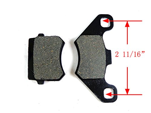 Rear Front Disc Brake Pads Shoes for 50cc 70cc 90cc 110cc 125cc ATV Go kart Quad 4 Wheeler Dune Buggy Sandrail Taotao SunL JCL NST Coolster