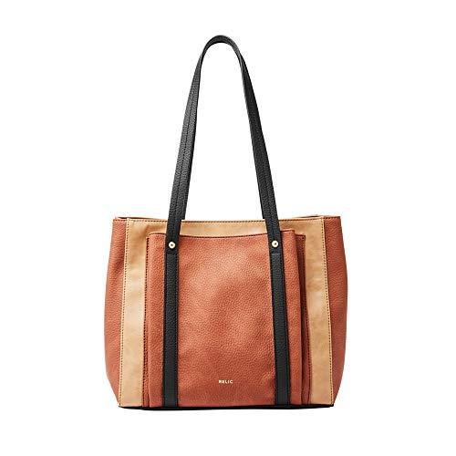 Relic by Fossil Women's Bailey Double Shoulder Handbag, Color: Neutral Multi Model: (RLH2730994)