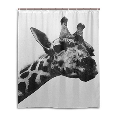 My Daily Einzigartige Giraffe Wasserdicht Badezimmer Decor Polyester Duschvorhang 152,4x 182,9cm