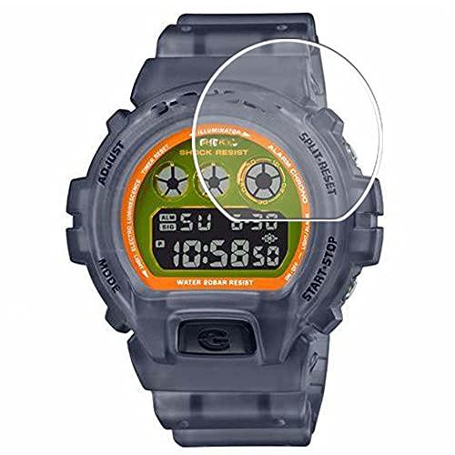 Vaxson 3 pezzi pellicola protettiva compatibile con CASIO G-Shock DW6900 DW-6900 Series pellicola protettiva flessibile per lo schermo senza bolle [vetro temperato)