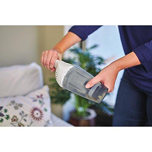 BLACK+DECKER Cordless Handheld Vacuum, White (HNVB115J10)