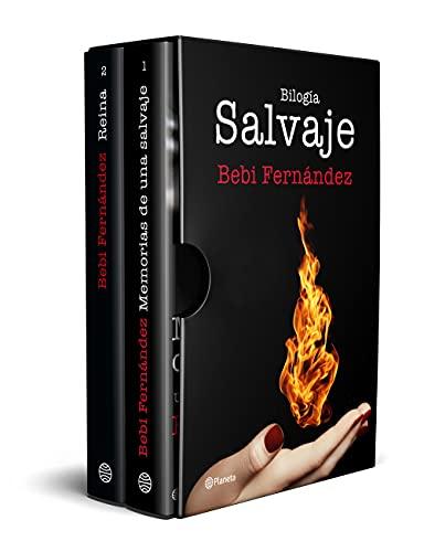 Estuche bilogía Salvaje (Memorias de una salvaje + Reina): Edición limitada. Regalo de un colgante inspirado en la bilogía ((Fuera de colección))