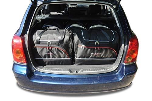 CAR FIT Taschen FÃœR Toyota AVENSIS Wagon (Kombi) II, 2001-2009 KJUST