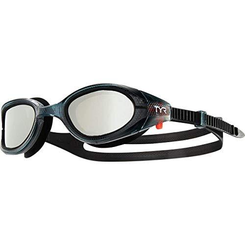 TYR Special Ops 3.0 Polarized, Occhialino con Lenti polarizzate Unisex Adulto, Silver/Smoke/Black, Taglia unica