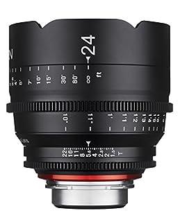 Rokinon Xeen XN24-NEX 24mm T1.5 Professional CINE Lens for Sony E Mount (FE),Black (B012I5QCDI) | Amazon price tracker / tracking, Amazon price history charts, Amazon price watches, Amazon price drop alerts