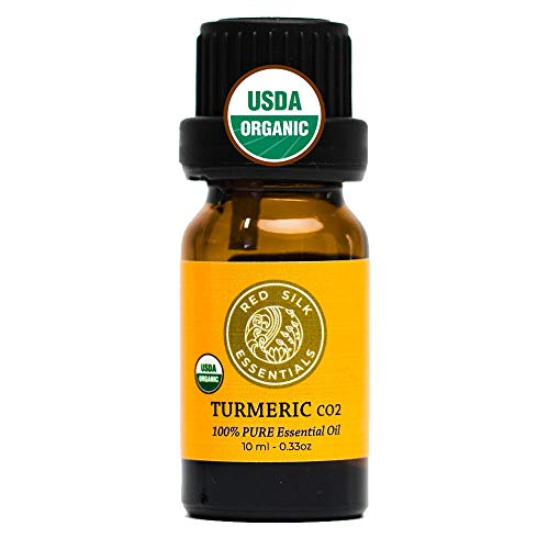 Organic Turmeric CO2 Essential Oil, 100% Pure USDA Certified...