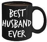 Irma00Eve - Tazza da caffè con scritta 'Best Husband Ever', idea regalo per marito e fidanzato, per San Valentino, Natale, calza della Befana, regalo per marito