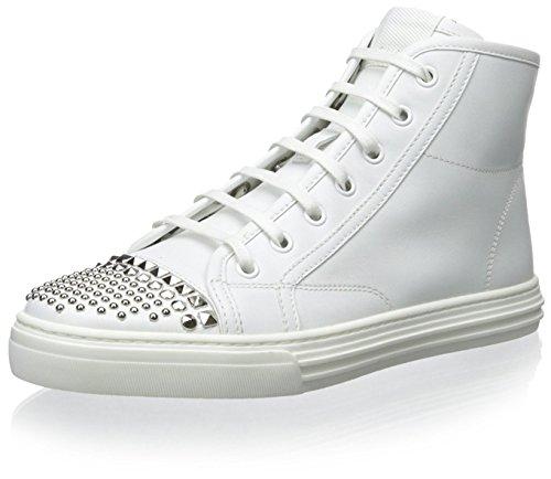 Gucci Damen Sneaker mit Nieten, (Wei), 41 EU
