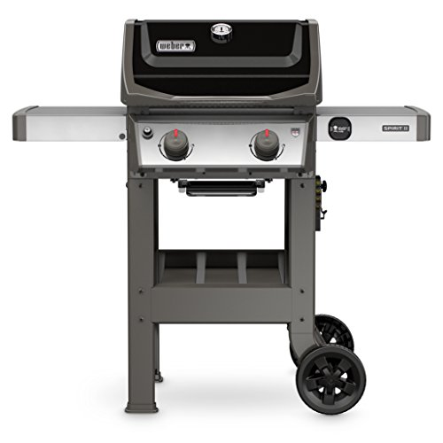 Weber 44010001 Spirit II E-210 Gas Grill LP Outdoor, Black