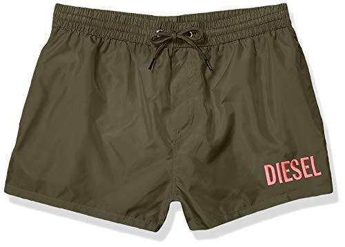 Diesel Herren BMBX-Sandy 2.017 Shorts Badehose, grün, Small