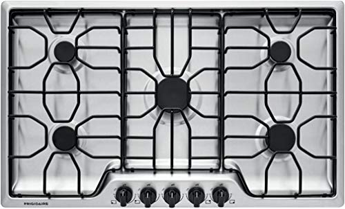 """Frigidaire FFGC3612TS 36"""" Gas Cooktop Stainless Steel"""