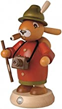 مدخن البخور الألماني عيد الفصح الأرنب السياحية، ارتفاع 18 سم / 7 بوصة، ازرجبرجي الأصلي من قبل مولر سيفين