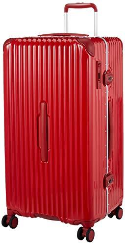 [カーゴ] スーツケース 大型 スリムフレーム 多機能モデル CAT88SSR 保証付 98L 78 cm 6kg ブライトレッド