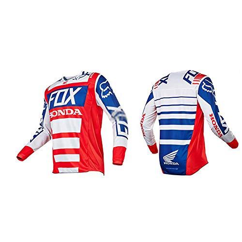LIDAUTO T-shirt met lange mouwen voor motorfietsteam MX Ninja MX Motocross Racing