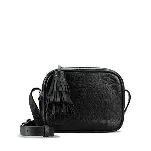 Clarks Topsham Mila - Bolso bandolera para mujer (1 x 1 cm), color Negro, talla 1x1x1 cm (B x H x T)