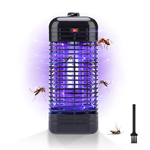 AngLink Lampe Anti-Moustique Électrique piège à Insectes en Tube U avec lumière UV de 365 nanomètres pour 100 m² Chambre d enfant
