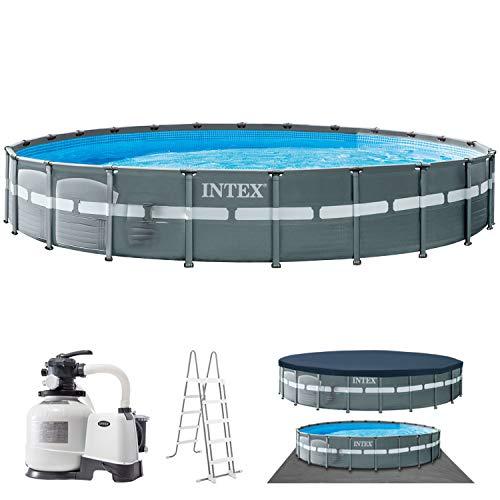 Intex Swimming Pool Ø 732 x 132 cm Frame Pool Set Ultra Rondo XTR 26340