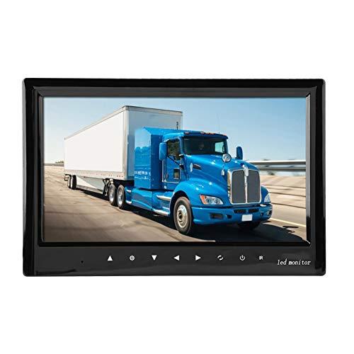 Monitor de cámara para vehículos, monitor digital para vehículos de 7'con soporte de montaje ajustable, pantalla de vista trasera con botón táctil, ampliamente utilizado para minibús, autobuses e