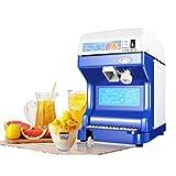 Kommerzielle Eiscrusher Maschine Vollautomatische Einstellbare Home Tabletop Ice Shaver Schneekegel Maker Restaurant Küche Sand Eismaschine (250w / 264lbs)