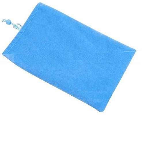 Deet® - Funda protectora de terciopelo azul para joyas, iPhone 5, 5S,...
