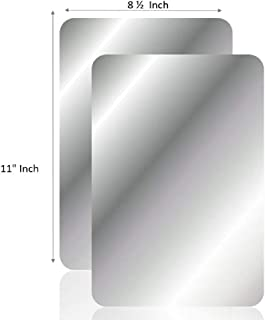 Q-Bics Flexible Mirror Sheets | Mirror Stickers 8 1/2
