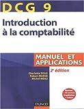 Introduction à la comptabilité DCG 9 - Manuel et applications