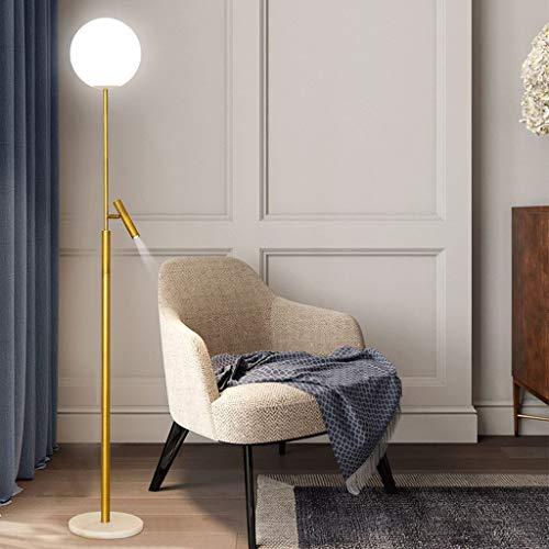 Vast IKEA Gold LED vloerlamp, verstelbare vloerlamp, retro vloerlampen voor woonkamer, slaapkamer, kantoor, lounge, energiebesparende vloerlamp 320