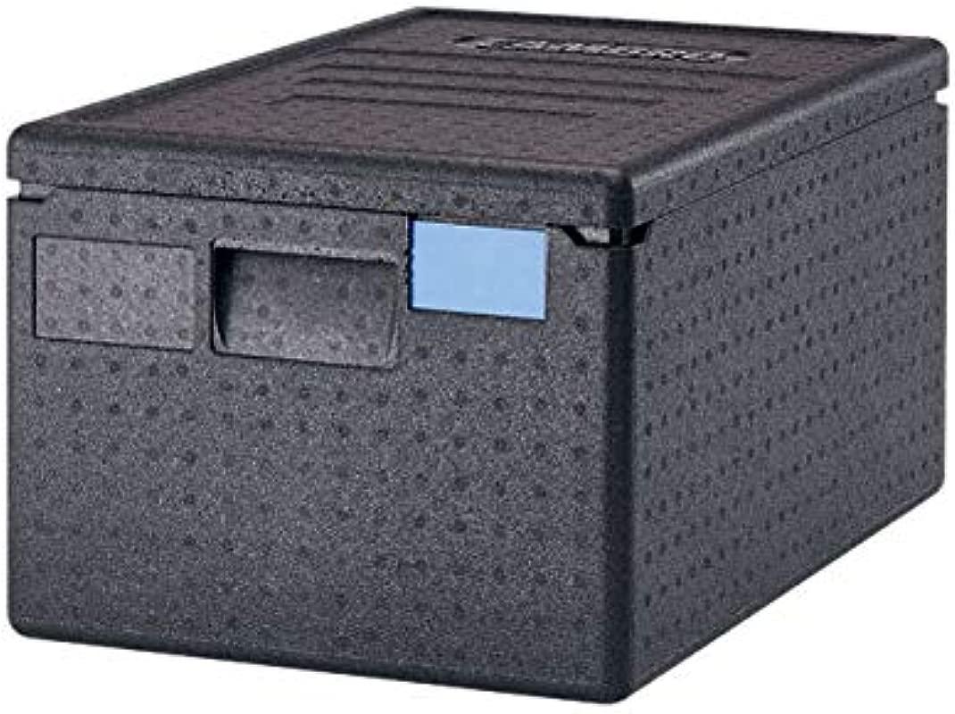 Cambro EPP180110 Black Cam Go Box Top Loading Catering Box