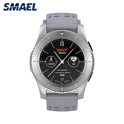 GYR Gos Smartwatch, Puede Insertar la Tarjeta SIM a Prueba de Agua Bluetooth WiFi, monitoreo Inteligente de la presión Arterial del Ritmo cardíaco gfh Smartwatch