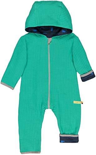 loud + proud Baby-Unisex Wendeoverall Strick Aus Bio Baumwolle, GOTS Zertifiziert Strampler, Grün (Jade Jad), 80 (Herstellergröße: 74/80)