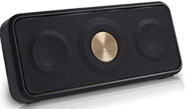 TDK A26 Weatherproof NFC Portable Bluetooth Stereo Speaker - Black