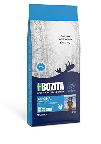 BOZITA Original Weizenfrei Hundefutter - 12.5 kg - nachhaltig produziertes Trockenfutter für erwachsene Hunde - Alleinfuttermittel