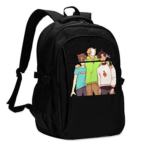 Travel Laptop Backpack, Dream SMP Travel Laptop Backpack School Bag Outsdoors Sling Bag with USB Charging Port AntiTheft Men's and Women's Backpacks
