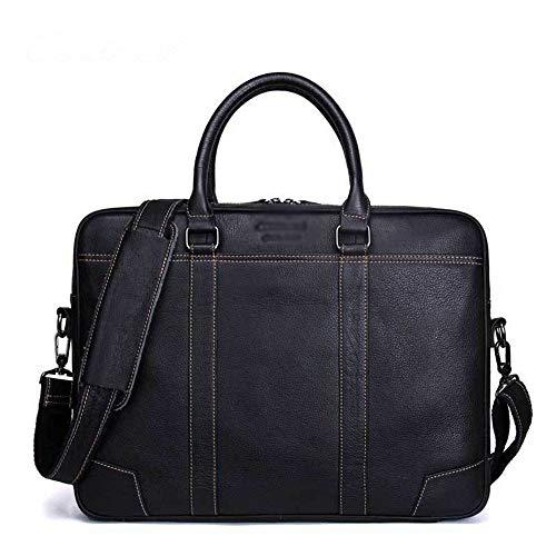 HEMFV Vintage Handmade Satchel Bag Briefcases for Men Extra Large 15.6 Inch Laptop Bag for Women Computer Organizer Briefcase Water Resistant Business Travel Messenger Bag Shoulder Satchel Bag