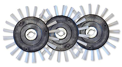 Grout Groovy 3 Pack Nylon Brush Wheel (for models purchased after Jan 1, 2020)