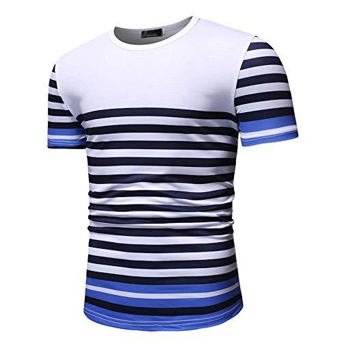Generice Summer - Camiseta casual de manga corta para hombre